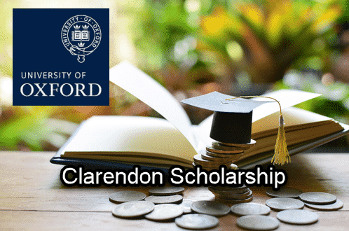 Clarendon Scholarship for D Phil @ University of Oxford