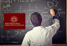 Kendriya Vidyalaya Post Graduate Chemistry Teachers Recruitment 2019