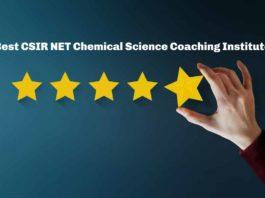 Best CSIR NET Chemical Science Coaching Institute