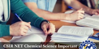 CSIR NET Chemical Science Important Topics & Reference Books