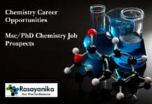 Chemistry Career Opportunities - Msc / PhD Chemistry Job Prospects