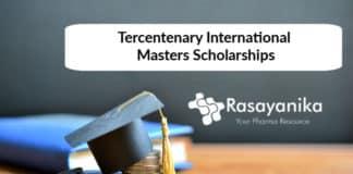 Chemistry Scholarship - Chemistry Tercentenary International Masters Scholarships