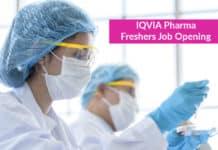 IQVIA Pharma Freshers Job Opening - Pharma Analyst Post
