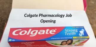 Colgate Pharmacology Job Opening