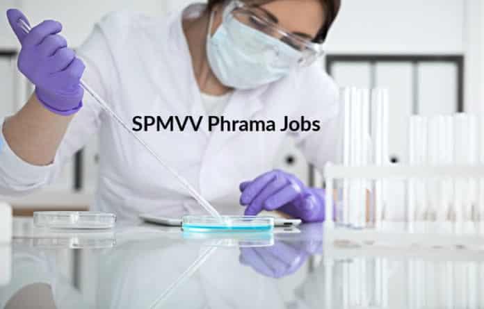 SPMVV M Pharma Jobs 2020 - Junior Research Fellow Post