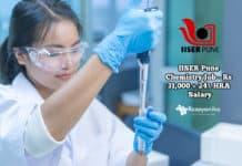 IISER Chemistry Job
