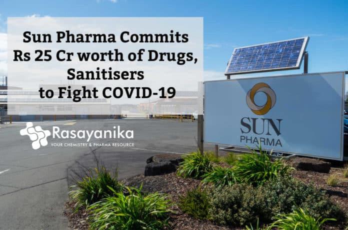 Sun Pharma to fight covid19