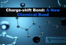 Charge shift bond