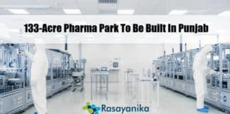Pharma park to be built in Punjab