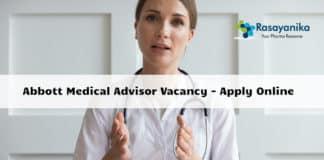 Abbott Medical Advisor Vacancy 2020 - Apply Online