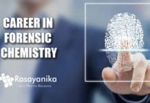 Career in Forensic Chemistry